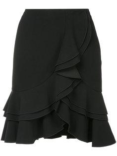 мини-юбка с оборкой  Proenza Schouler
