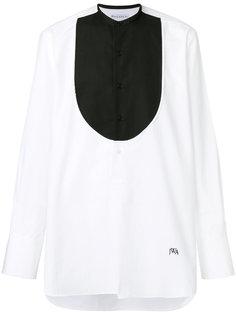 рубашка с контрастной панелью JW Anderson