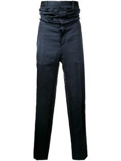 атласные брюки с высокой талией Y / Project