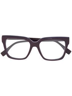 очки с квадратной оправой Fendi Eyewear