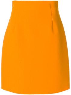 мини-юбка с завышенной талией MSGM