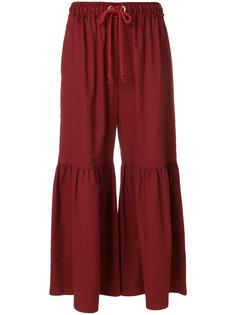 расклешенные брюки Moroccan See By Chloé