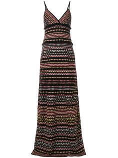 платье макси в полоску M Missoni
