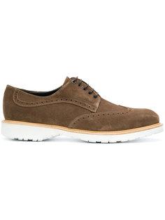 кроссовки на шнуровке Concorde Salvatore Ferragamo