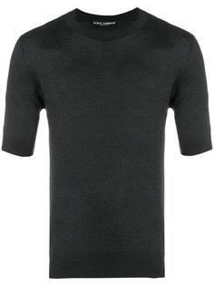 свитер с укороченными рукавами Dolce & Gabbana