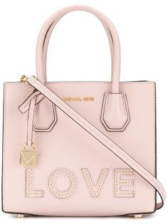 средняя сумка-тоут Mercer Love Michael Michael Kors