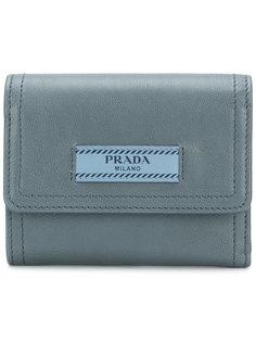 кошелек с нашивкой логотипа Prada