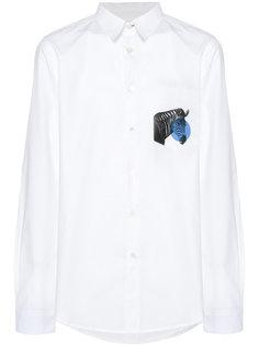 рубашка с принтом зебры Ps By Paul Smith