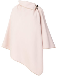 асимметричное драпированное пальто Chloé