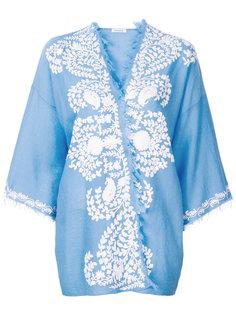 накидка-кимоно с аппликацией  P.A.R.O.S.H.