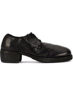 броги на шнуровке Guidi