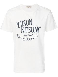 футболка с принтом Maison Kitsune Maison Kitsuné