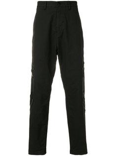 брюки карго с заниженной проймой Stone Island Shadow Project