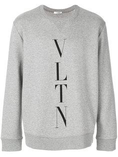 толстовка с аббревиатурой бренда Valentino