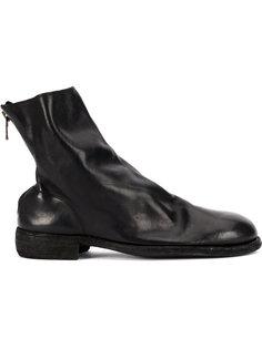 ботинки на молнии сзади Guidi