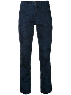 облегающие джинсы с рисунком Marc Cain