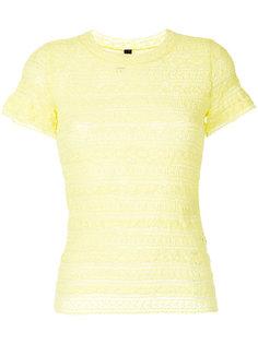 ажурная футболка Marc Cain