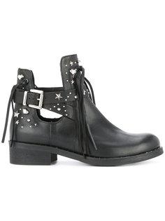 высокие ботинки с отделкой заклепками Marc Cain