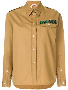 рубашка с отделкой  Nº21