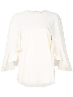 блузка с оборочными рукавами Chloé
