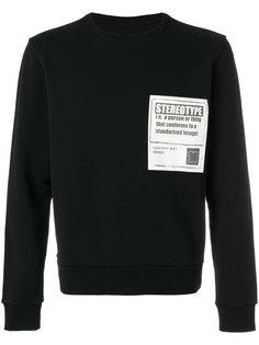 свитер с надписью Stereotype Maison Margiela