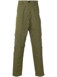 "брюки в стиле ""карго"" с заниженным шаговым швом Stone Island Shadow Project"