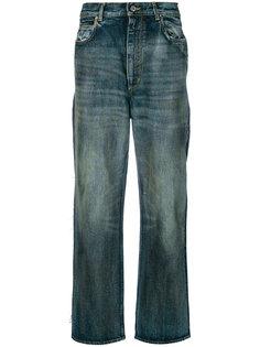 """джинсы посадки """"boyfriend"""" с эффектом потертости Golden Goose Deluxe Brand"""