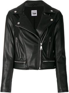 байкерская куртка Twin-Set