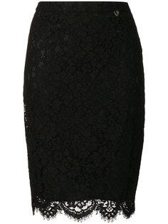 кружевная юбка-карандаш  Twin-Set