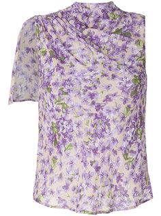 блузка с цветочным принтом Twin-Set