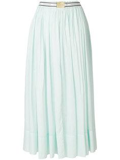 расклешенная юбка-миди  Alexandre Vauthier