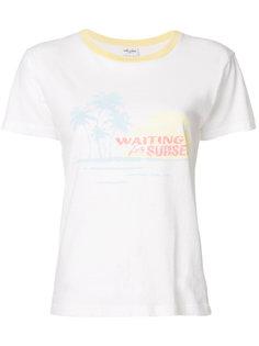 футболка Waiting For Sunset Saint Laurent