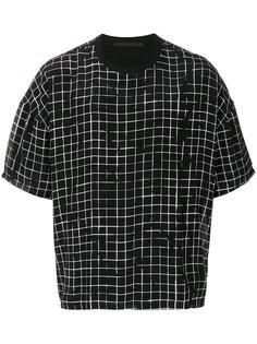 футболка с решетчатым принтом Haider Ackermann