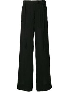 широкие брюки свободного кроя Ann Demeulemeester