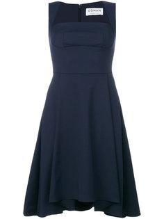 платье с акриловым ремнем Osman