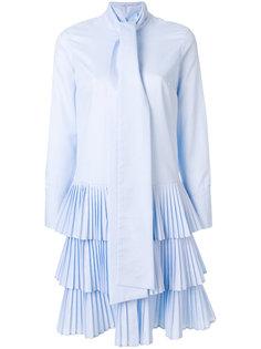 многослойное плиссированное платье Osman