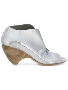 туфли-лодочки с открытым носком Marsèll