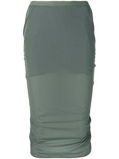 облегающая юбка Rick Owens