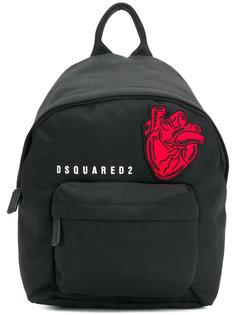 рюкзак с нашивкой сердца Dsquared2
