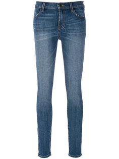 джинсы скинни с завышенной талией  J Brand