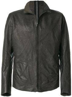 кожаная куртка на молнии Isaac Sellam Experience