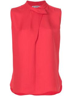 асимметричная рубашка  Jil Sander