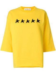 свитер с вышитыми звездами Golden Goose Deluxe Brand