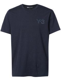 футболка с логотипом бренда Y-3