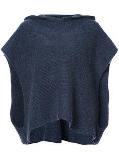 свитер Malta с капюшоном и широкими рукавами The Elder Statesman