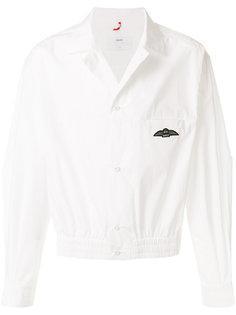 рубашка с эластичным подолом Oamc