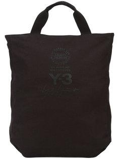сумка-тоут с принтом-логотипом Y-3