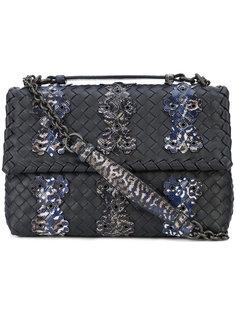 сумка на плечо Olimpia с отделкой intrecciato Bottega Veneta