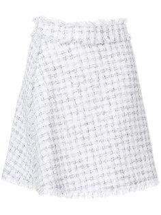 твидовая юбка А-силуэта  MSGM