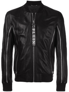 куртка-бомбер с молниями Philipp Plein